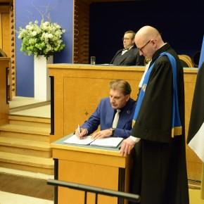 Riigikogu ametivande andmine